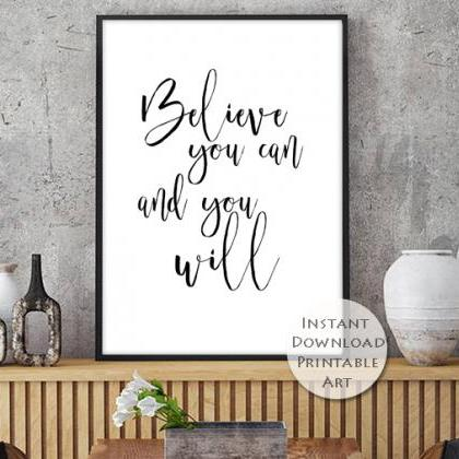 Printable Art, Inspirational Print,..